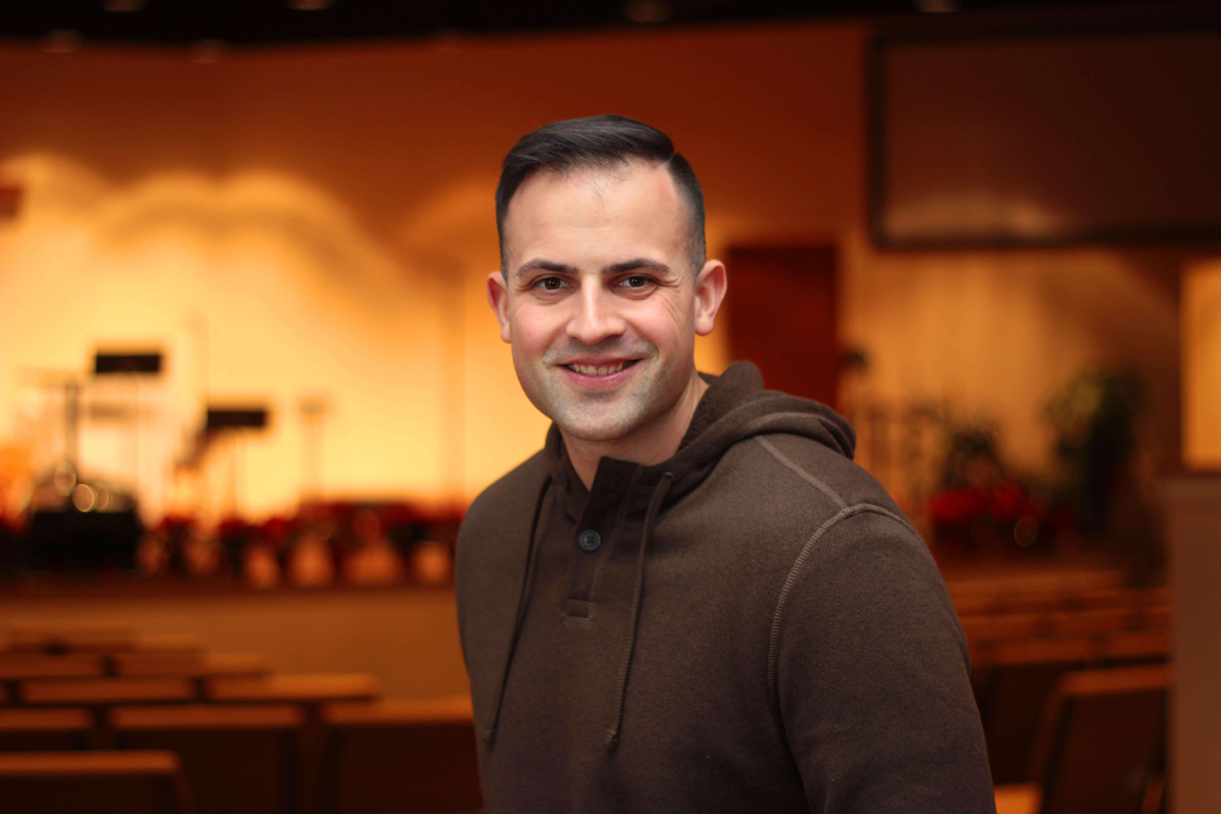 Youth Pastor John Roselle